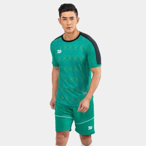 Áo bóng đá không logo Bul Bal - 6CITY màu xanh ngọc
