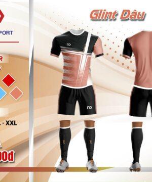 Áo bóng đá không logo thiết kế cao cấp ND - GLINT màu Hồng