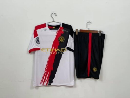 Quần áo bóng đá CLB Man City màu Trắng mùa giải 21-22