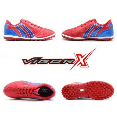 Giày trẻ em Pan Vigor X đế đinh TF màu đỏ