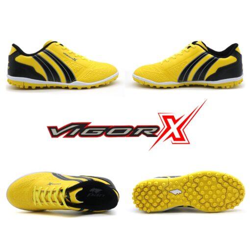 Giày trẻ em Pan Vigor X đế đinh TF màu vàng