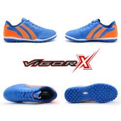 Giày trẻ em Pan Vigor X đế đinh TF màu xanh bích
