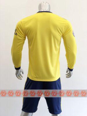 Quần áo bóng đá tay dài CLB ARSENAL màu Vàng mùa giải 21-22