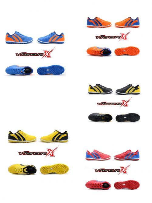 Giày đá banh trẻ em Pan Vigor X đế Đinh TF chính hãng 5 màu cao cấp