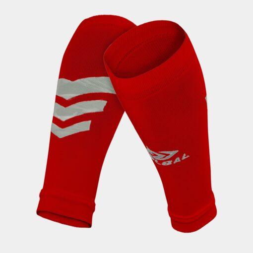 Tất-Vớ ống bóng đá Bulbal Shin Protection màu đỏ