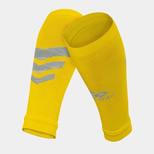 Tất-Vớ ống bóng đá Bulbal Shin Protection màu vàng