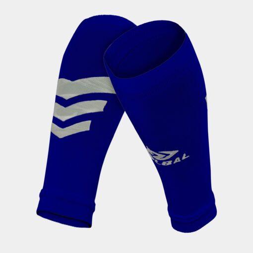 Tất-Vớ ống bóng đá Bulbal Shin Protection màu xanh bích