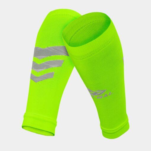 Tất-Vớ ống bóng đá Bulbal Shin Protection màu xanh dạ quang