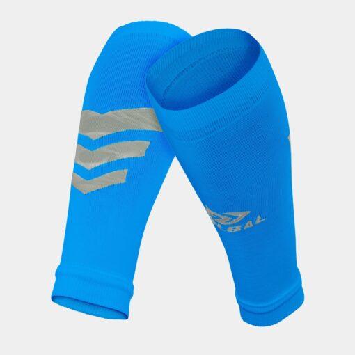 Tất-Vớ ống bóng đá Bulbal Shin Protection màu xanh da