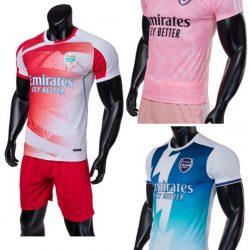 Quần Áo Arsenal Vải Mè Thái Cao Cấp nhiều màu 2021