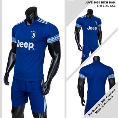 Quần áo bóng đá CLB Juventus màu Xanh bích