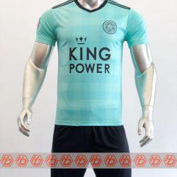 Áo Leicester màu xanh ngọc 2021-2022