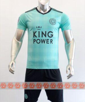 Quần áo bóng đá CLB LEICESTER màu Xanh ngọc mùa giải 21-22