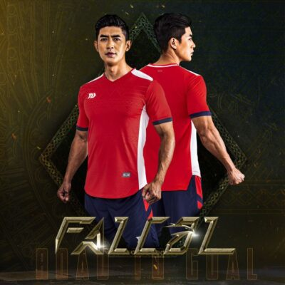 Áo bóng đá không logo Bul Bal - Fancol màu Đỏ