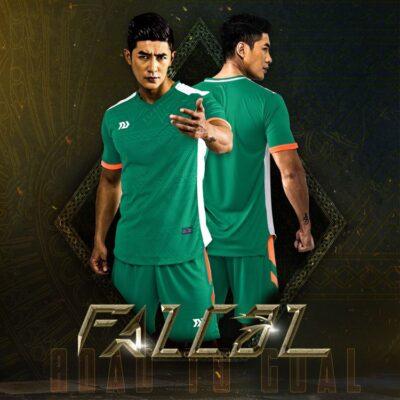 Áo bóng đá không logo Bul Bal - Fancol màu XANH LÝ