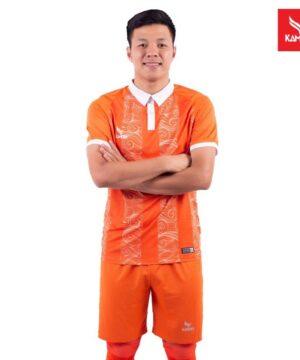 Áo bóng Bình Định chính hãng Kamito màu Cam