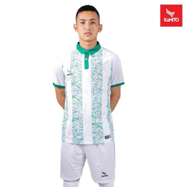 Áo bóng Bình Định chính hãng Kamito màu Trắng