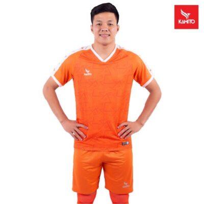 Áo bóng Đà Nẵng chính hãng Kamito màu cam