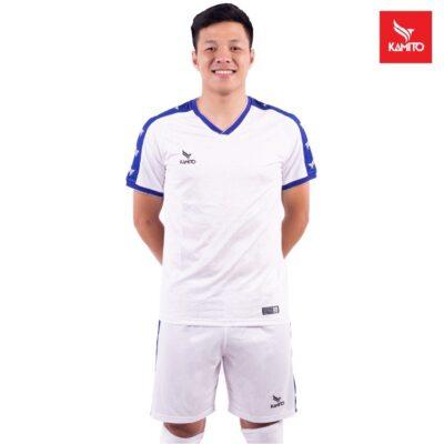 Áo bóng Đà Nẵng chính hãng Kamito màu trắng