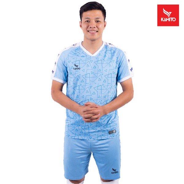 Áo bóng Đà Nẵng chính hãng Kamito màu Xanh da