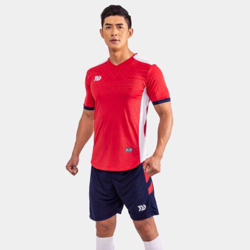 Áo bóng đá không logo Bul Bal - Falcol màu đỏ