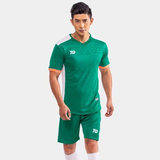 Áo bóng đá không logo Bul Bal - Falcol màu xanh lý