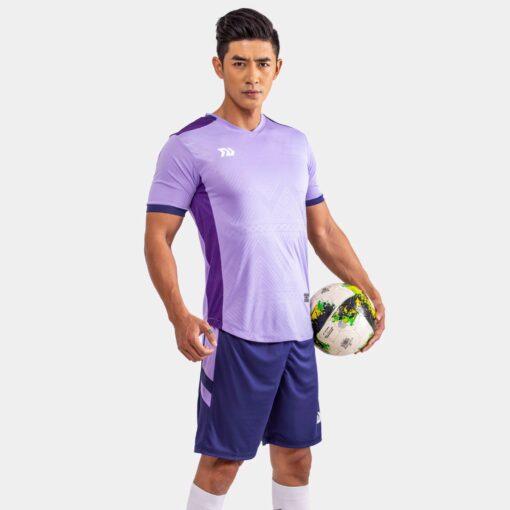 Áo bóng đá không logo Bul Bal - Falcol màu tím