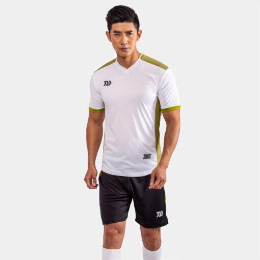 Áo bóng đá không logo Bul Bal - Falcol màu trắng