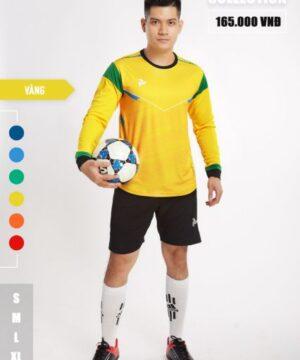 Áo thủ môn không logo thiết kế Just Play - BUFFON màu Vàng
