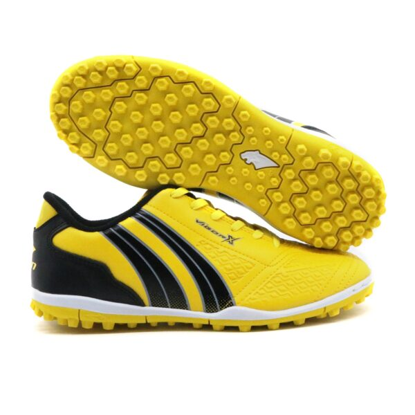 Giày Pan Pan Vigor X đế Đinh TF màu vàng