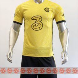 Quần áo bóng đá CLB Chelsea màu Vàng mùa giải 21-22