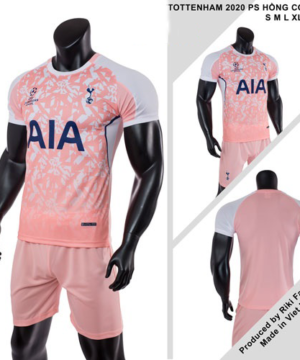 Quần áo Tottenham vải mè thái màu Hồng