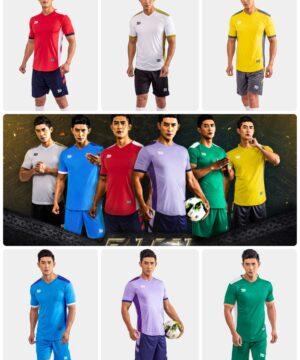 Áo bóng đá không logo Bul Bal - Falcol vải mè cao cấp 6 màu