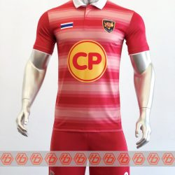 Đồng phục quần áo bóng đá CP GROUP Màu Đỏ