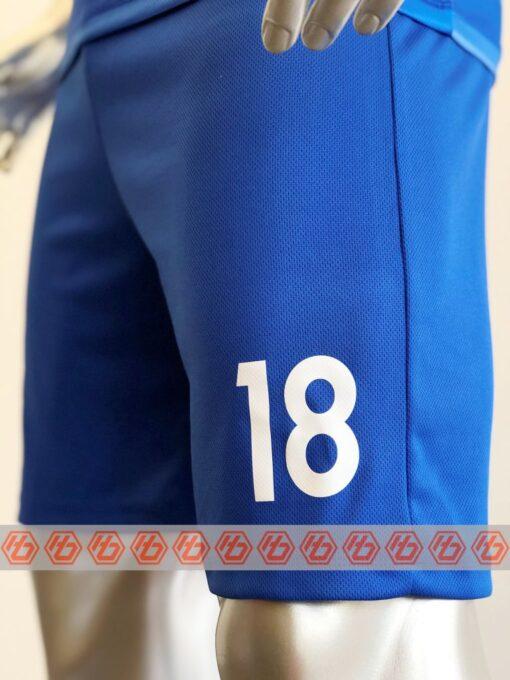 Đồng phục quần áo bóng đá CP GROUP Màu Xanh