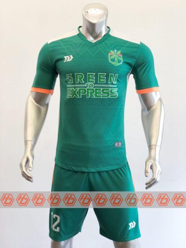 Đồng phục quần áo bóng đá GREEN TO EXPRESS