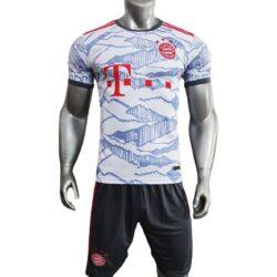áo Bayern Munich xám trắng mùa giải 21-22