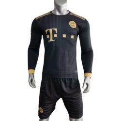 áo tay dài Bayern Munich màu Đen 21-22