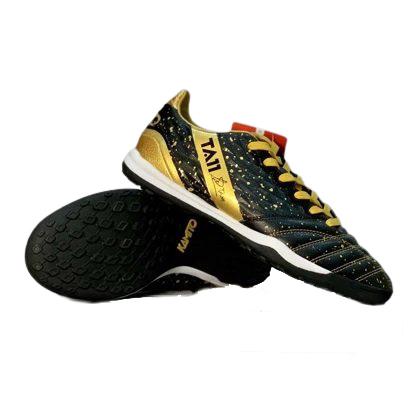 Giày đá banh chính hãng Kamito Tuấn Anh TA11-AS đế Đinh TF sân cỏ nhân tạo màu đen