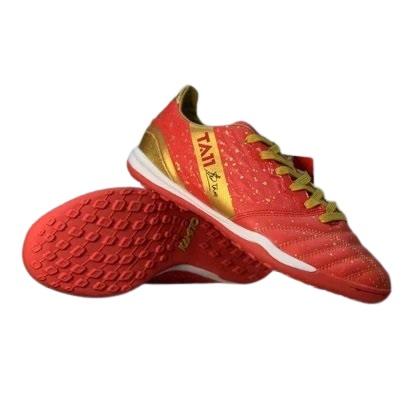 Giày đá banh chính hãng Kamito Tuấn Anh TA11-AS đế Đinh TF sân cỏ nhân tạo màu đỏ