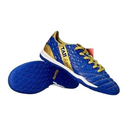 Giày đá banh chính hãng Kamito Tuấn Anh TA11-AS đế Đinh TF sân cỏ nhân tạo màu xanh bích