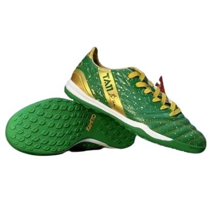 Giày đá banh chính hãng Kamito Tuấn Anh TA11-AS đế Đinh TF sân cỏ nhân tạo màu xanh lá