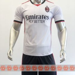 Áo AC Milan Fanmade màu trắng 2021-2022