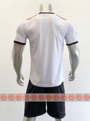Quần áo bóng đá CLB AC MILAN Fanmade màu Trắng mùa giải 21-22