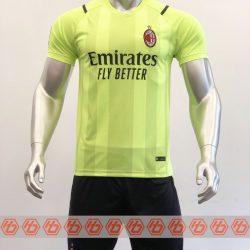 Áo AC Milan màu xanh dạ quang 2021-2022