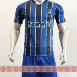 Áo Ajax màu sân khách xanh bích 2021-2022