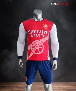 Quần áo bóng đá CLB ARSENAL Fanmade màu Đỏ mùa giải 21-22