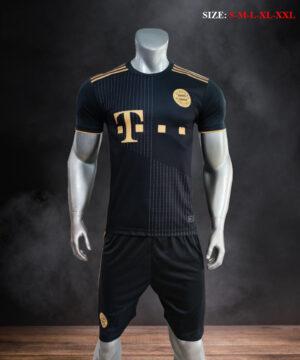 Quần áo bóng đá CLB Bayern Munich màu Đen mùa giải 21-22