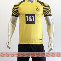 Áo Dortmund sân nhà màu vàng 2021-2022