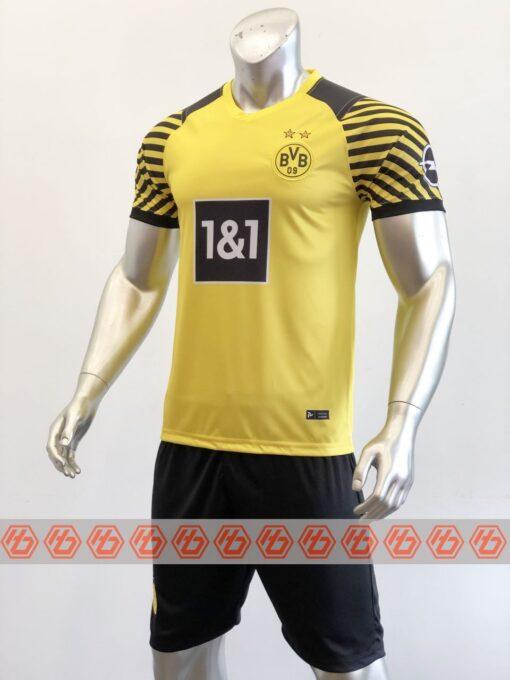 Quần áo bóng đá CLB Dortmund màu Vàng mùa giải 21-22